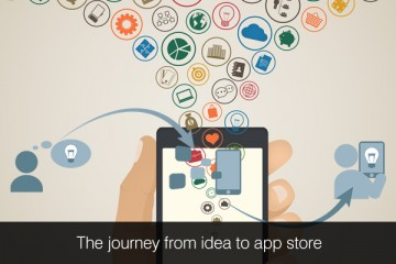 The journey from idea to app store